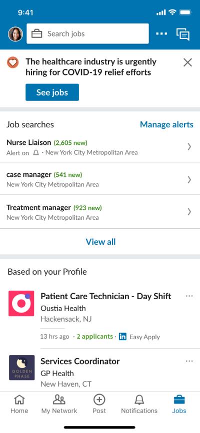 oferta trabajo linkedin gratis