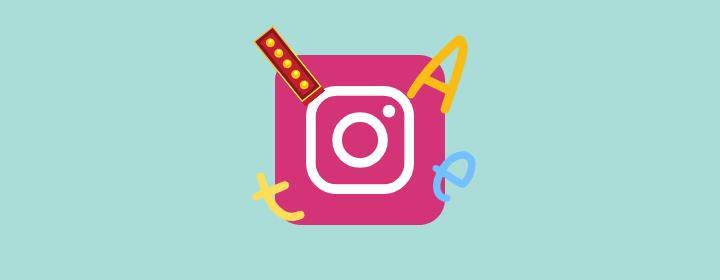 Nuevos tipos de letra para las stories de Instagram