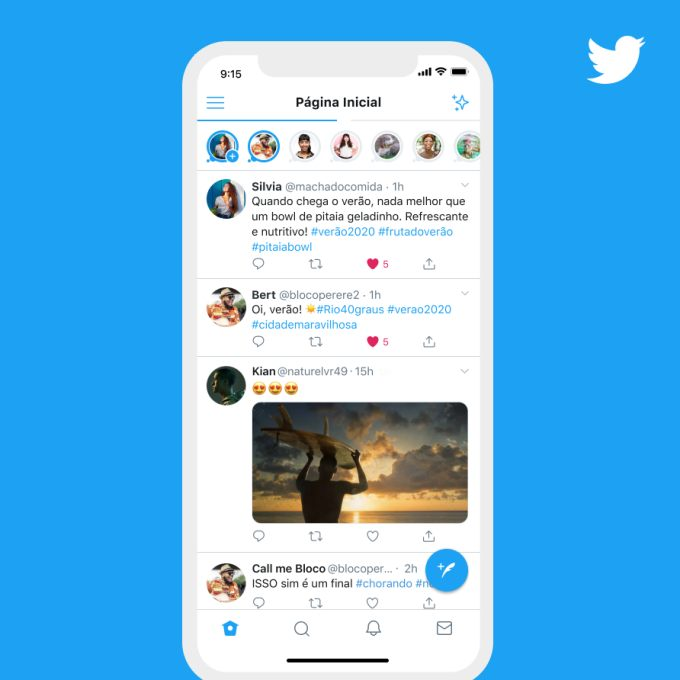 Twitter-Fleets