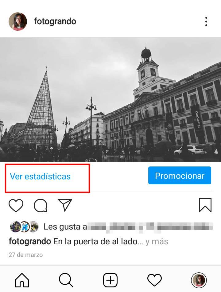 estadisticas publicaciones instagram