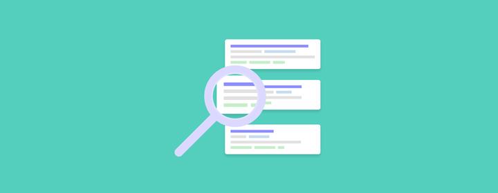 La experiencia de pagina de Google en los resultados de busqueda