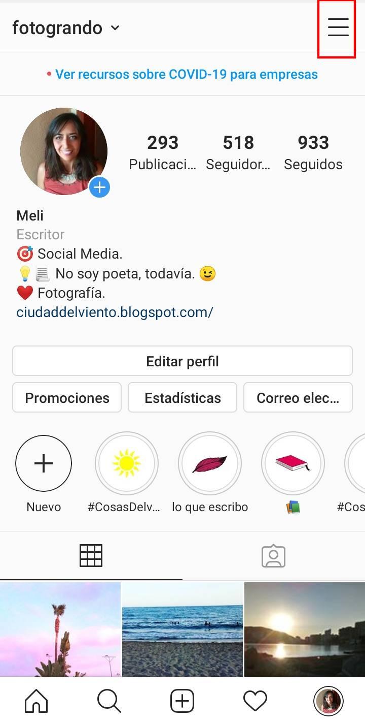 Como crear una publicacion promocionada en Instagram TUTORIAL