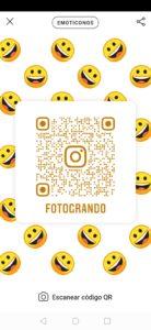 emoticonos codigo qr instagram