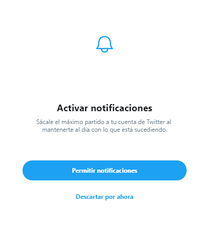 notificaciones twitter